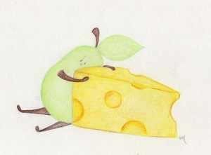 pear and cheese 2