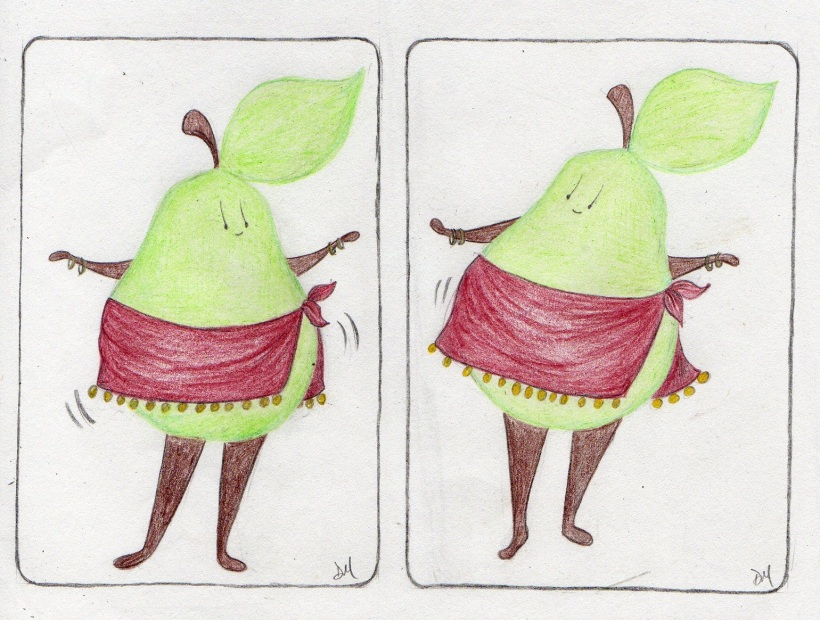 belly dancing pear
