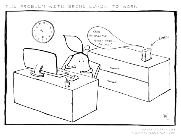 the problem with bringing lunch to work
