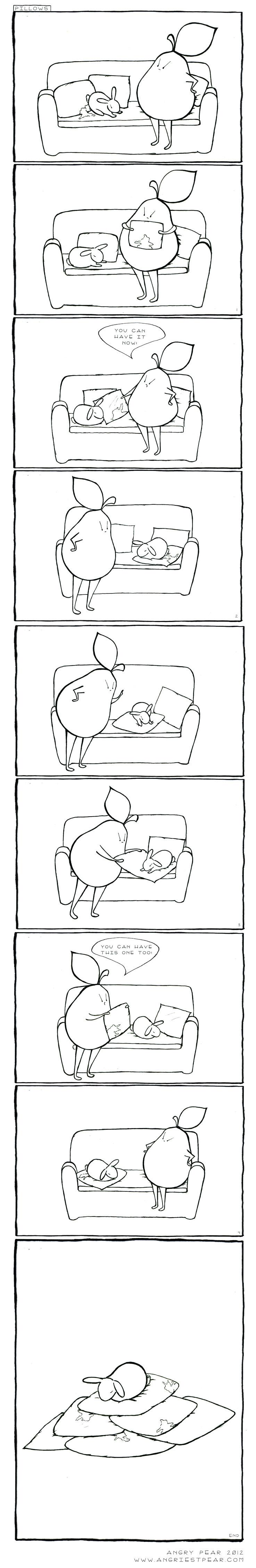 rabbit pillows full