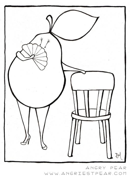 burlesque pear 2