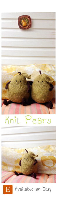 knit pears widget