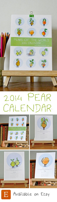 pear calendar widget 2