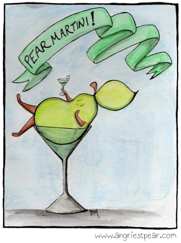 pear martini 1 color