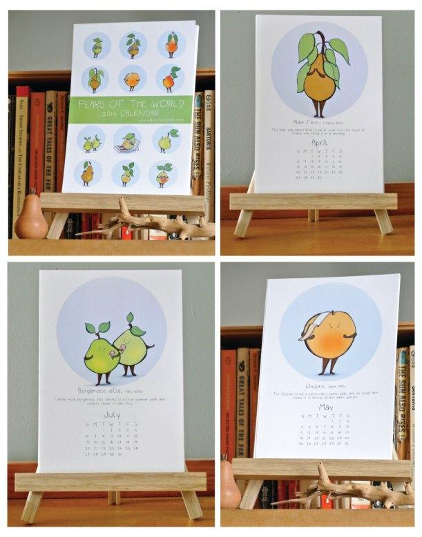 pear calendar 4