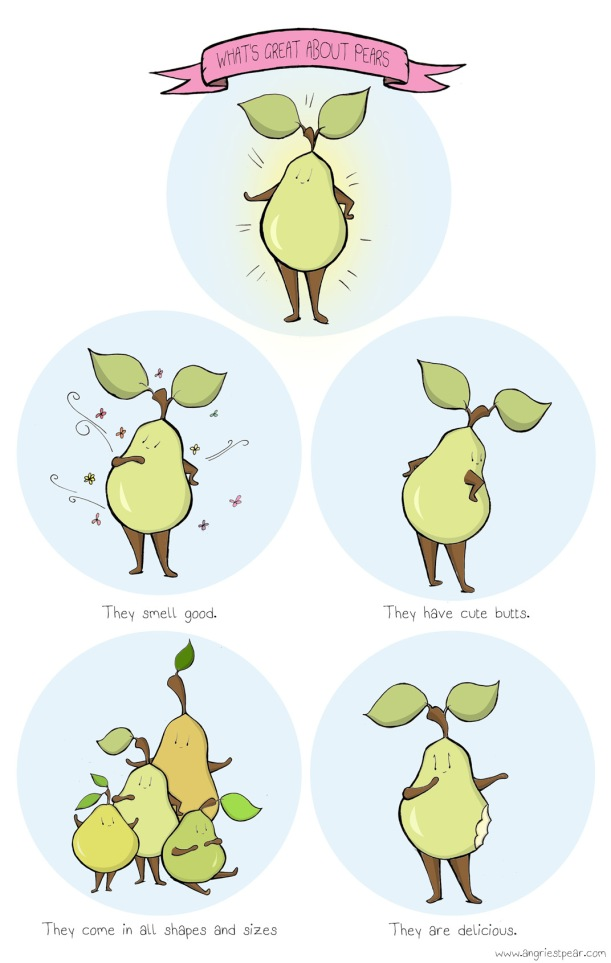 whats great about pears