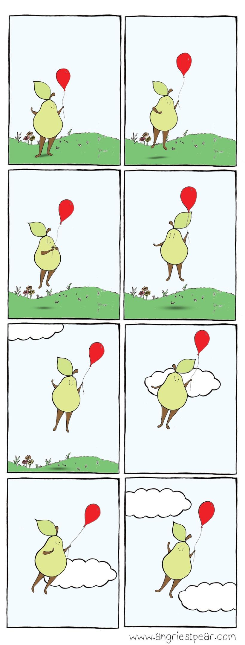ballooning pear